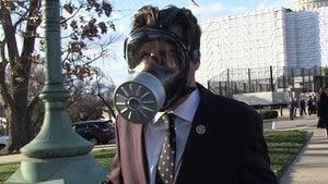 Rep. Matt Gaetz Defends Wearing Gas Mask for Coronavirus Vote