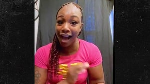 Claressa Shields Reveals Angry DMs from Laila Ali, 'Learn to Shut Your Mouth'