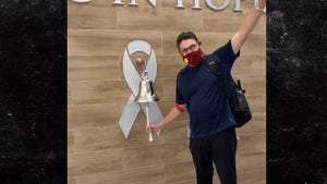 NFL's Ron Rivera Finishes Last Round Of Cancer Treatments, Amazing Celebration