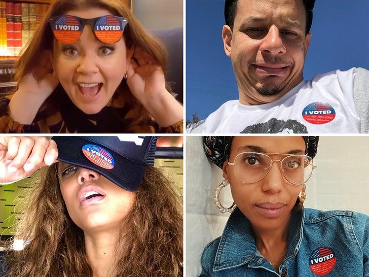 Stars Rockin' The Vote For Super Tuesday