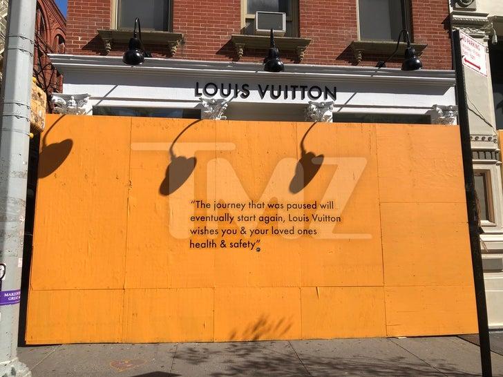 Soho Designer Stores Closed