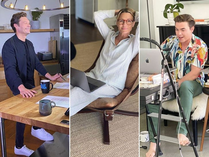 Stars Working From Home