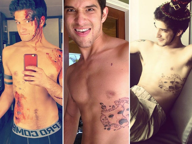 Tyler Posey's Shirtless Shots
