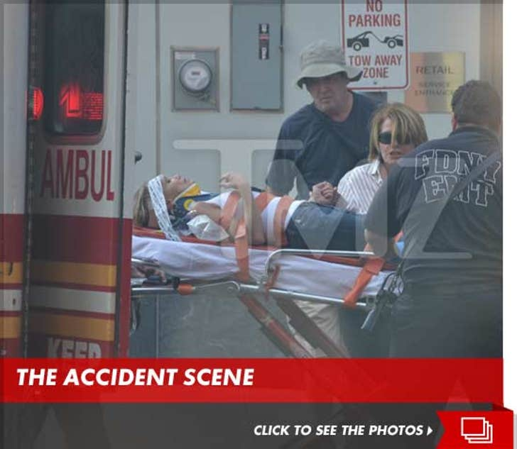 Kristin Chenoweth Hospitalized After Accident on 'The Good Wife'