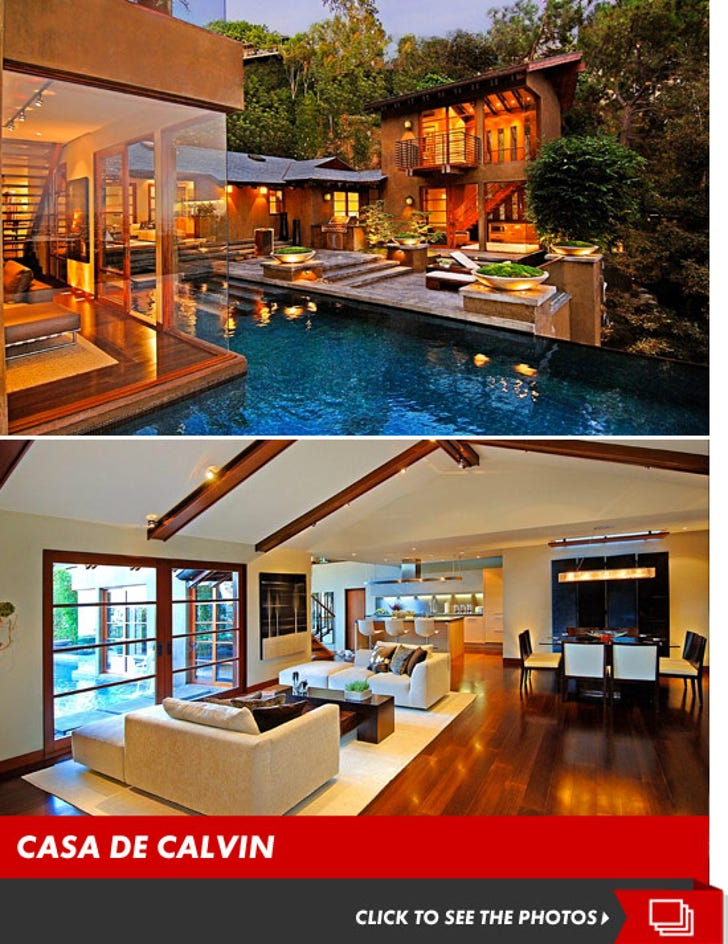 Calvin Harris Drops $7 Million on Hills Home