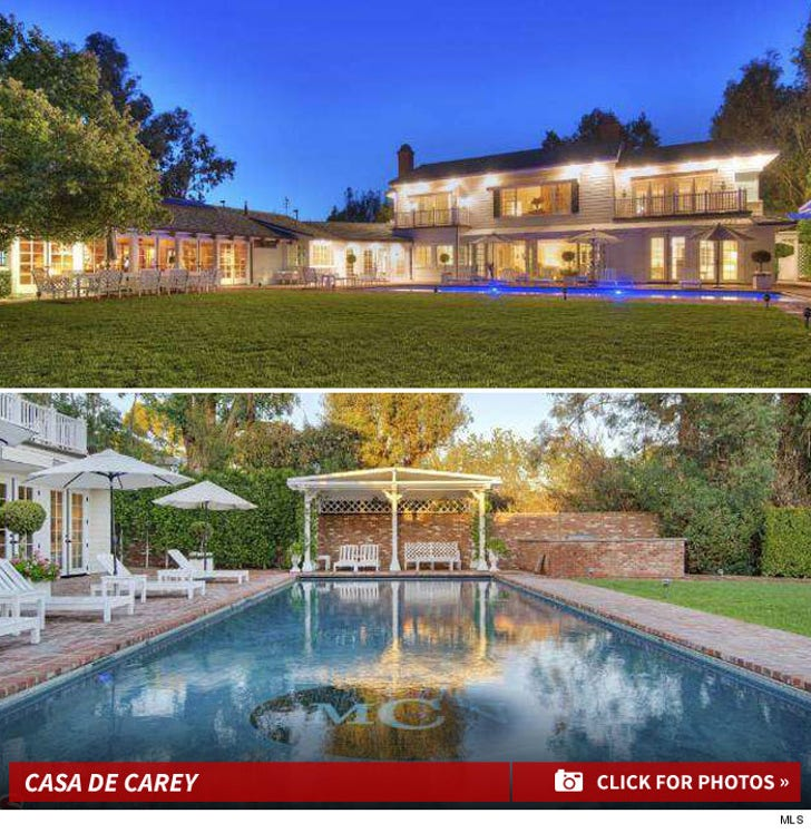 Mariah Carey and Nick Cannon's Bel Air Home