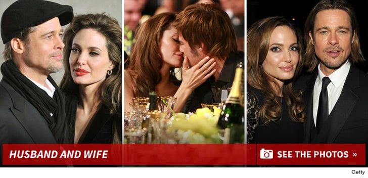 Brad & Angelina -- The Cute Couple
