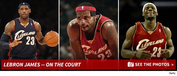 LeBron's Ballin' Photos