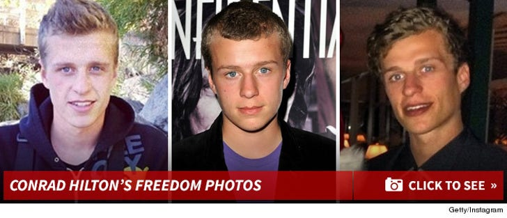 Conrad Hilton -- Through The Years