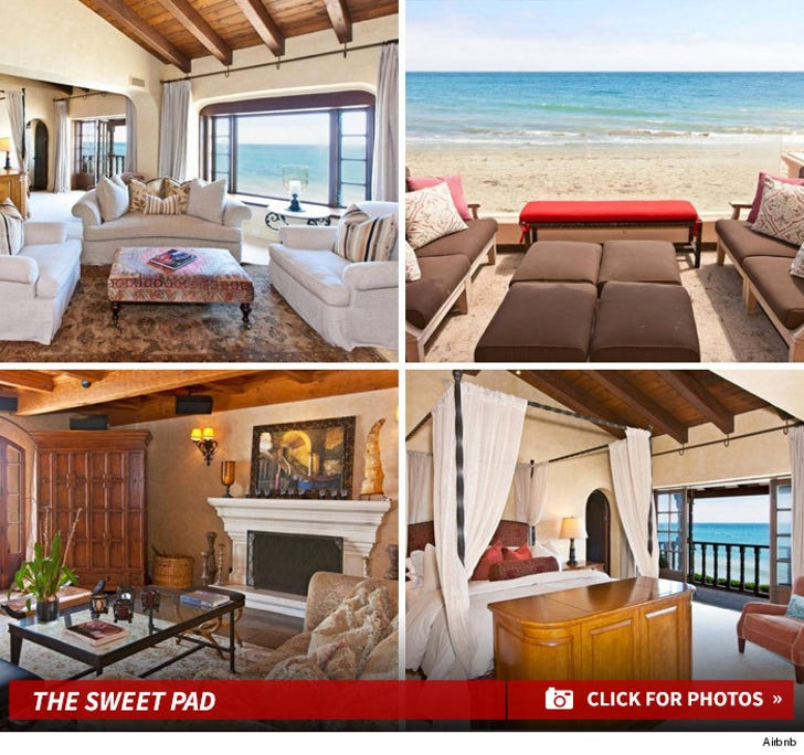 Mariah Carey Uses Airbnb Too! -- Rents Out Michael Lambert's Carbon Beach Pad