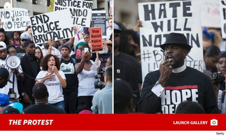 The Dallas Protest Pics