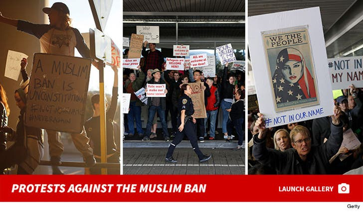 Protests Against The Muslim Ban