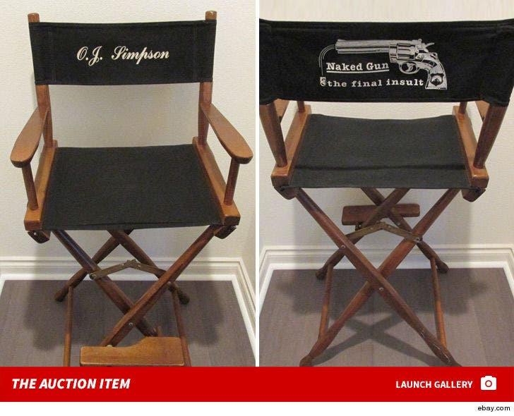 O.J. Simpson's 'Naked Gun' Chair