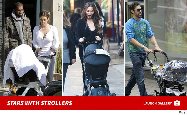 Stars With Strollers