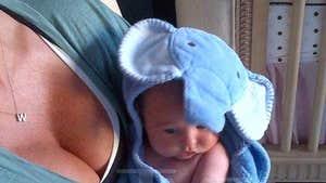 Rachel Uchitel -- My Baby Will Never Go Hungry