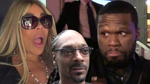Wendy Williams Got Past 50 Cent's Party Ban, Took Pic with Snoop