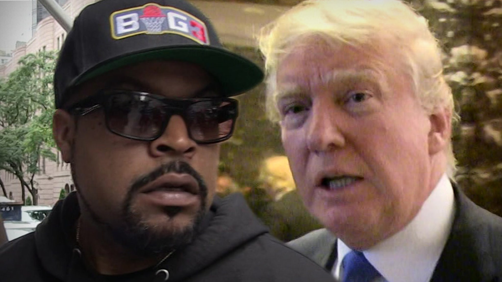 Ice Cube Clears Up Working with Trump ...
