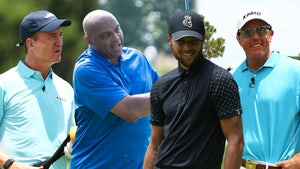 Charles Barkley to Humiliate Himself for Charity In Golf Match with Peyton Manning