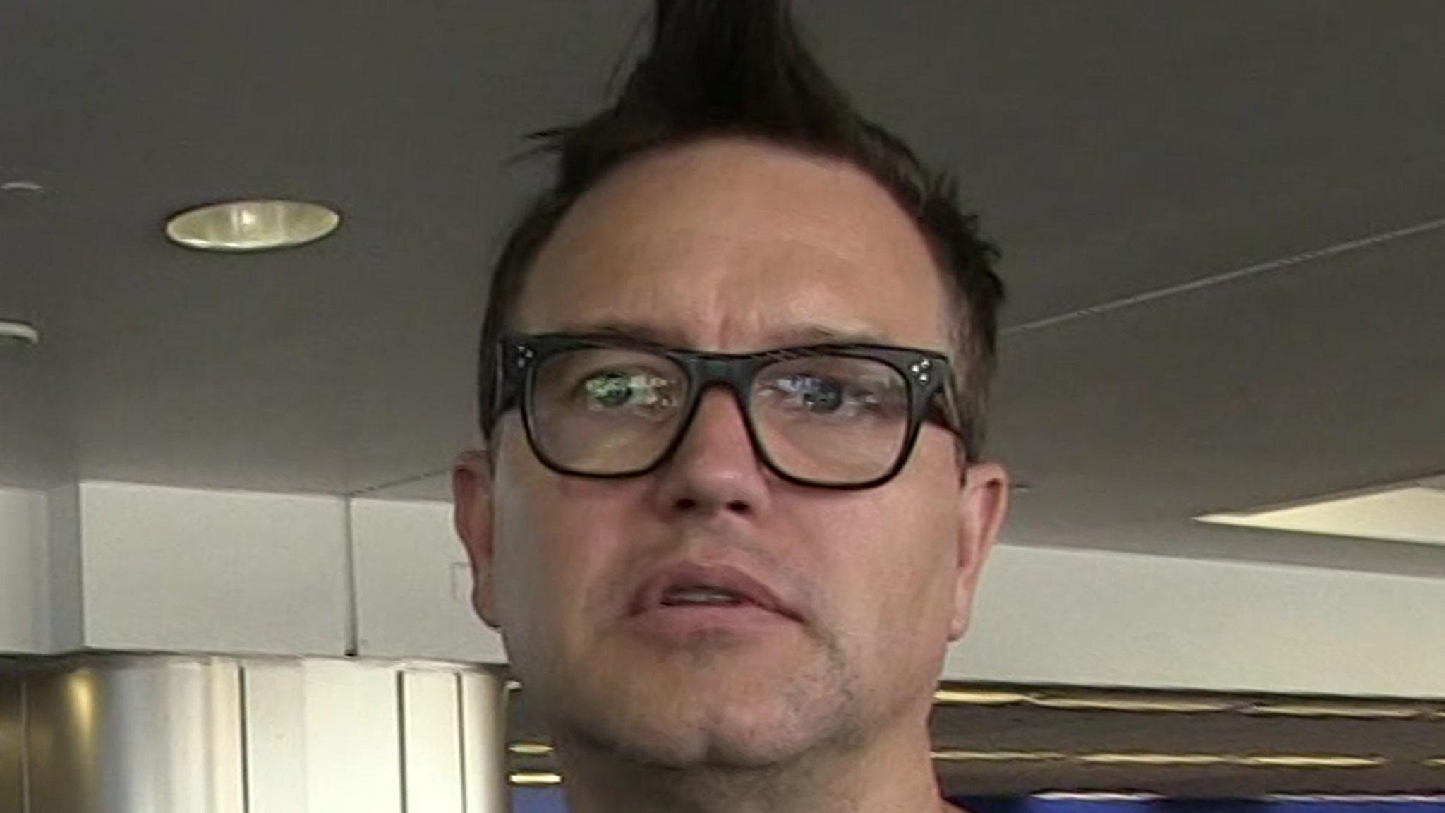 Blink-182's Mark Hoppus Says He's Battling Cancer