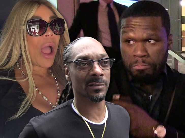 Cent stops Wendy Williams from entering his party