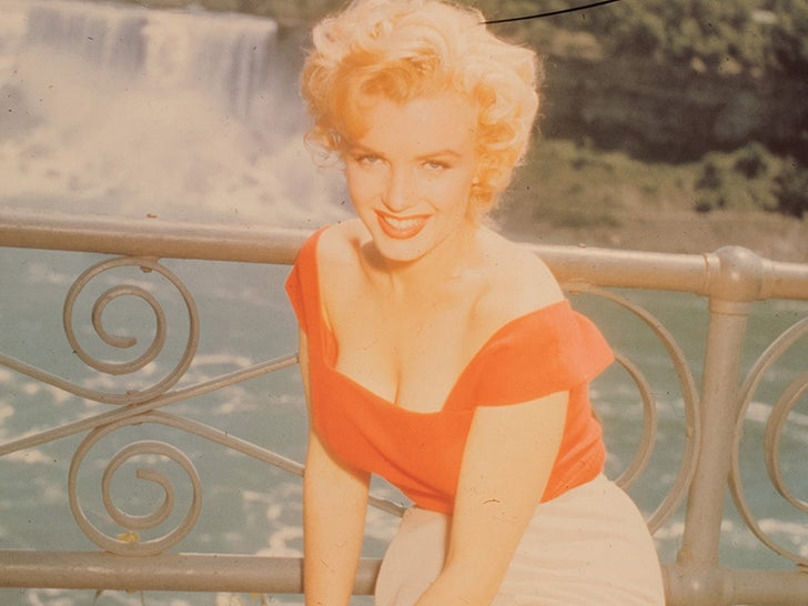 """Marilyn Monroe Negatives From """"Niagra"""" -- For Sale!"""