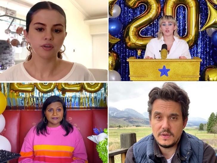 Celebs Wishing Class of 2020 Congratulations