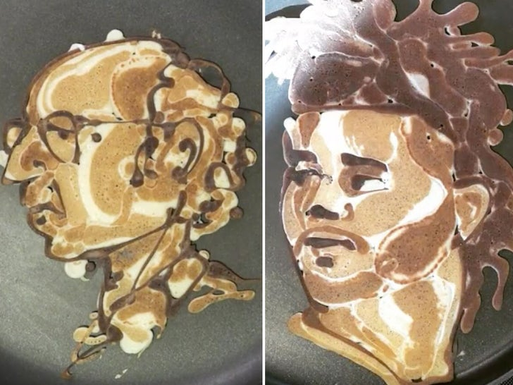 Famous Face Pancakes
