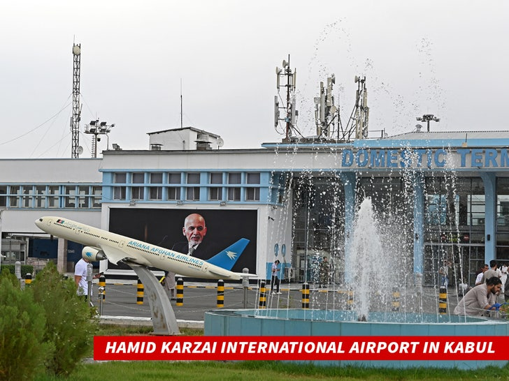 Hamid Karzai International Airport in Kabul