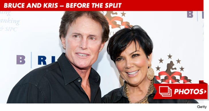 Kris and Bruce Jenner -- Through the Years