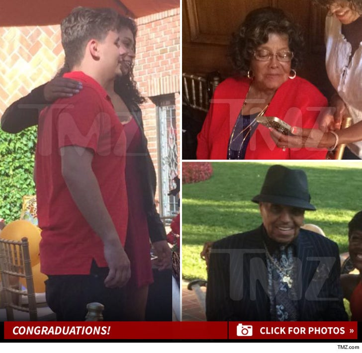 Prince Jackson -- Congratuations!
