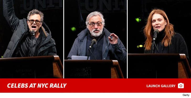 Celebrities At We Stand United NYC Rally