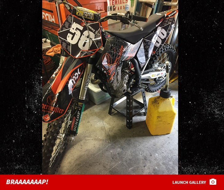 Tommy Lee Dirt Bike -- For $ale!