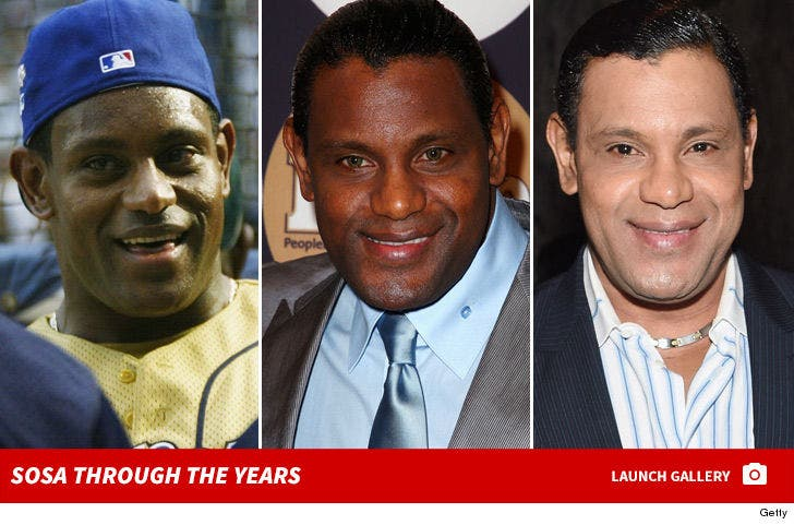 Sammy Sosa Through the Years