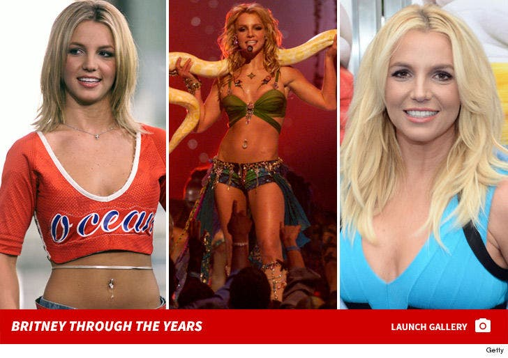 Britney Spears Through the Years