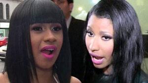 Cardi B and Nicki Minaj: First Face-to-Face at AMAs Since Shoe Throwing Incident
