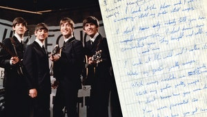 The Beatles' Handwritten Lyrics From George and Ringo Up For Sale