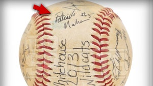 Patrick Mahomes Baseball Autographed In H.S. Hits Auction, 2013 Signature!
