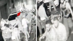 Aaron Donald Surveillance Video Shows NFL Star Pulling Mob Off Alleged Attacker