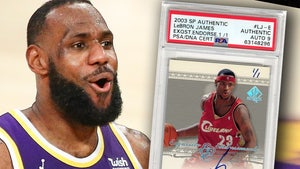 LeBron James 1-Of-1 Autographed Rookie Card Hits Auction Block, Could Fetch $1.2M