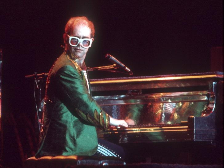 Elton John's Performance Pictures