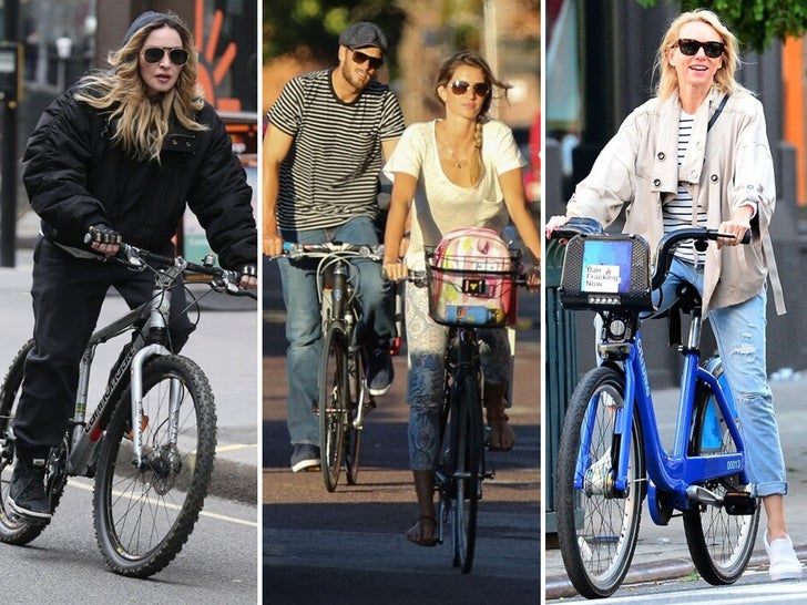 Cycling Stars -- Give 'Em a Spin!