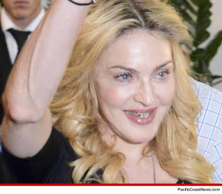 Madonna -- I Got a Grill Now, Bitches