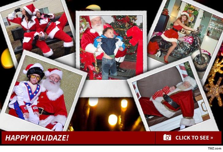 TMZ's Annual Santa Snapshot Contest