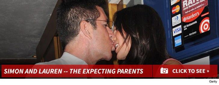Simon Cowell and Lauren Silverman -- The Happy Couple!