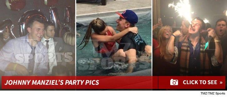 Johnny Manziel's Party Pics