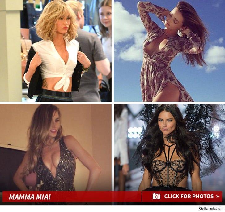 Sexy Celebrity MILF's