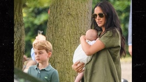 Meghan Markle and Kate Middleton Bring Kids to Watch Dads Play Polo
