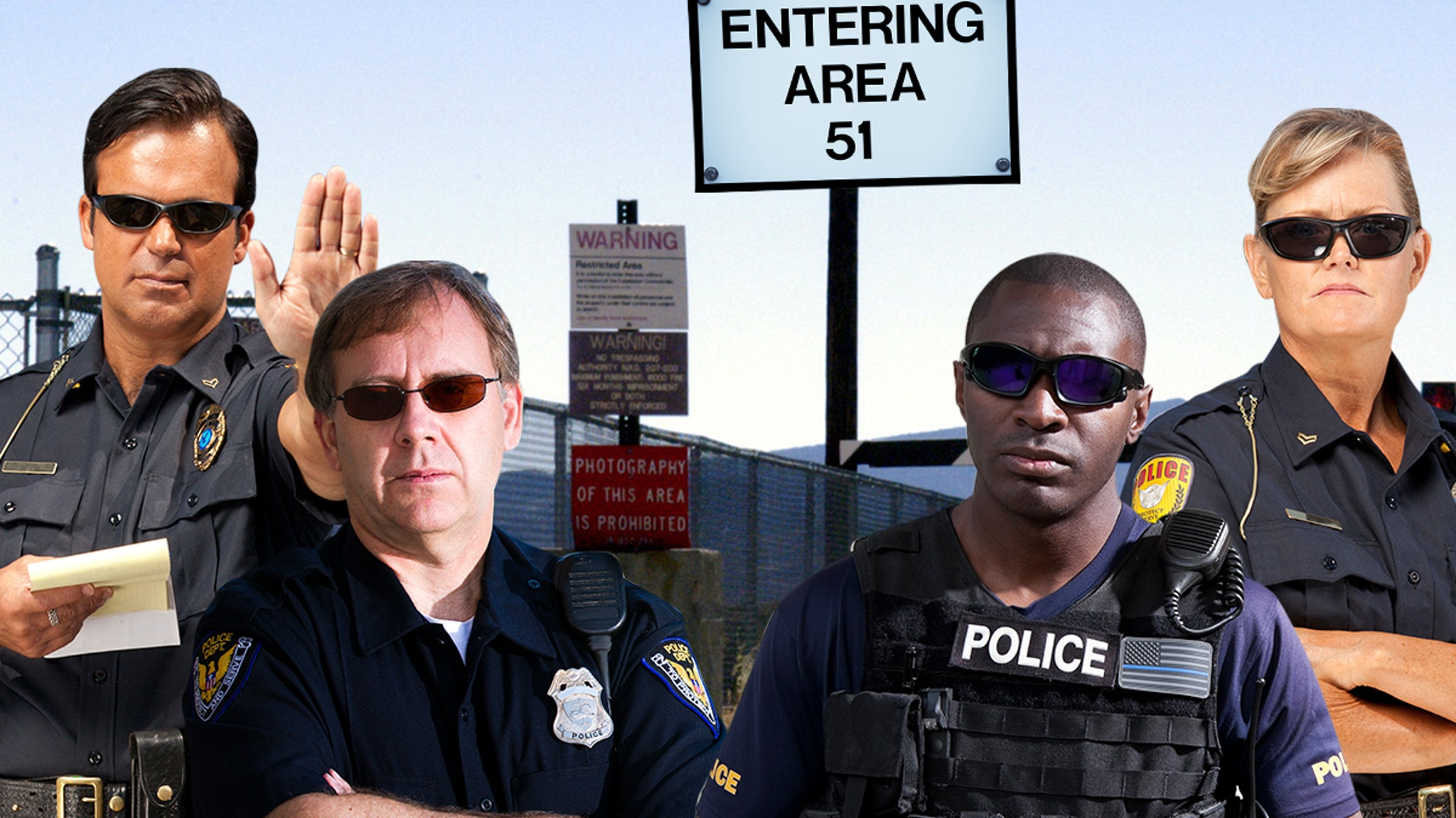 Area 51 Raiders Will Be Met with Arrests & Desert Obstacles