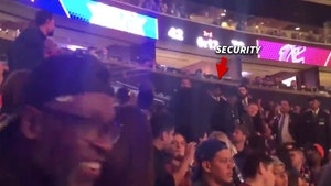 'Fire Dolan' Heckler Confronted By Security at Knicks Game, Not Ejected