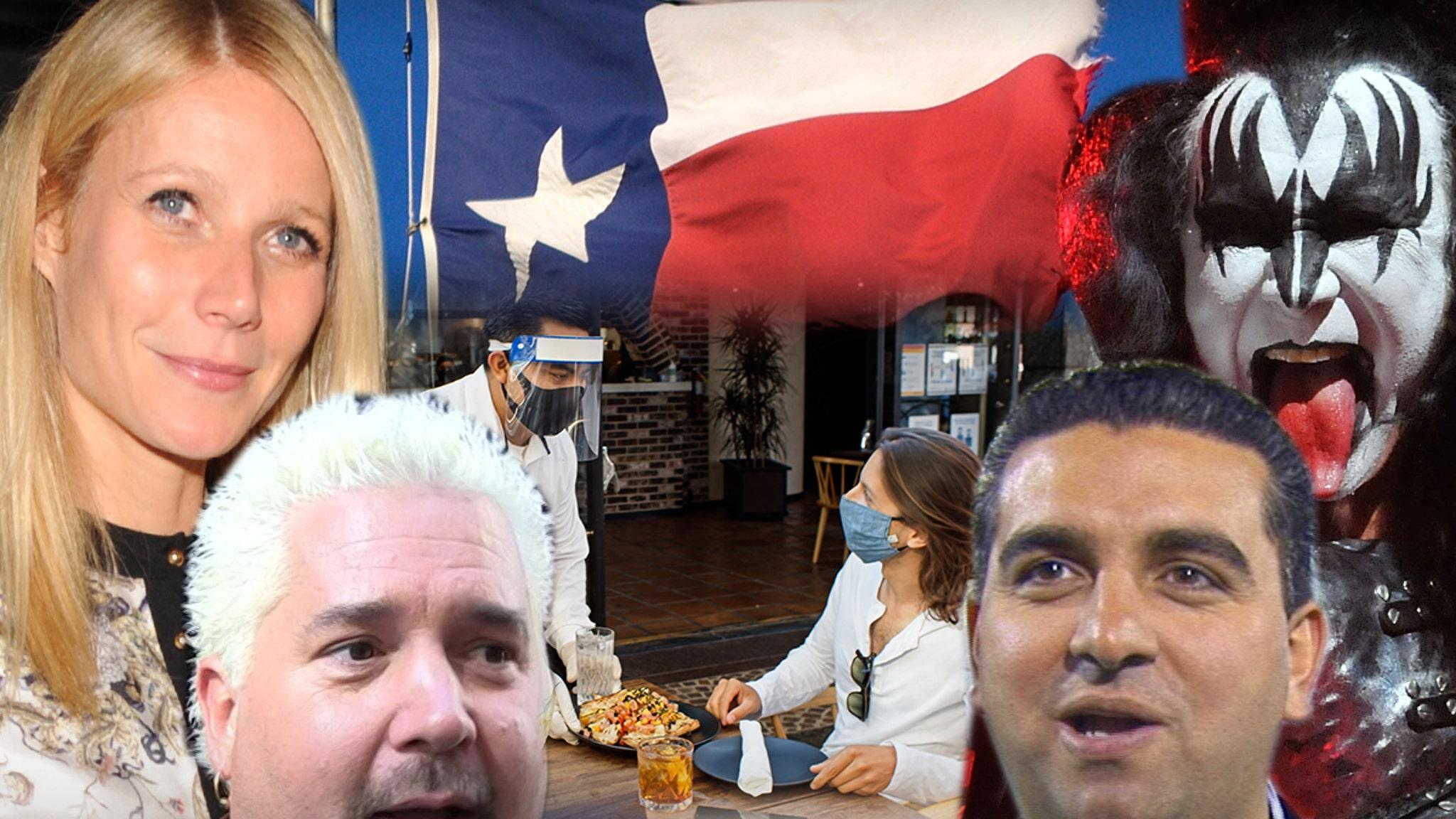 Большинство техасских компаний, принадлежащих знаменитостям, отказываются от губернатора Аббата из-за маскировки